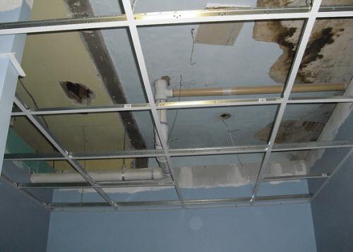 Как сделать подвесной потолок армстронг своими руками